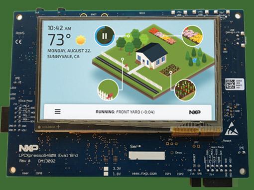 NXP 5460 – IOT Sprinklers Demo
